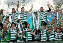 Sporting Lisbon finally ended their 19-year wait to lift Portuguese league title on Tuesday