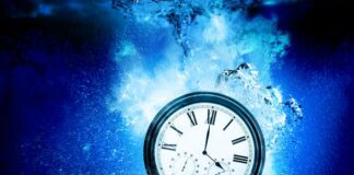 A few people may be perceiving time as it really is