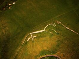 The Uffington White Horse is believed to be about 3,000 years old