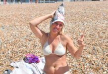 Nisha Flowers from Brighton dons a Daily Star hat