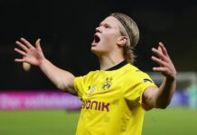 Erling Haaland dreams of winning the Champions League and the music inspires him