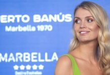 Princess Diana's niece Lady Kitty Spencer, 30, reportedly married South African furniture magnate Michael Lewis, 62, in Italy on July 24, 2021. (Daniel Perez Garcia-Santos/Getty Images)