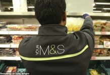On the rise: Marks & Spencer signalled that revamps of its food and clothing divisions and changes to working practices were paying off