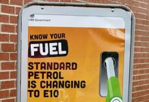 E10 fuel has arrived - here