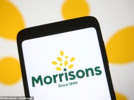 Games of two halves: Morrisonssales are expected to be up on pre-pandemic levels, and Barclays is pencilling in a step up in interim profits to £240million