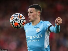 Phil Foden is set to be rewarded by Manchester City for his excellent form with a new deal
