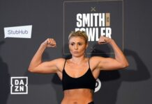 Shannon Courtenay missed weight for her bantamweight title defence against Jamie Mitchell